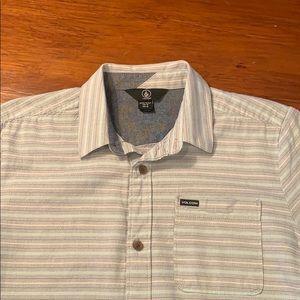 VOLCOM SS Button Down Shirt (B-27)